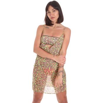 Textil Mulher Vestidos curtos Me Fui M20-0456X2 Amarelo