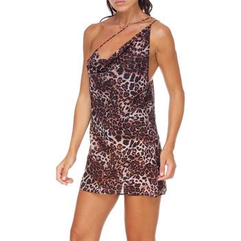 Textil Mulher Vestidos curtos Me Fui M20-0456X1 Castanho