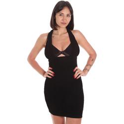 Textil Mulher Vestidos curtos Me Fui M20-0354NR Preto