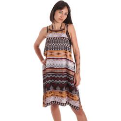Textil Mulher Túnicas Me Fui M20-0081X1 Castanho