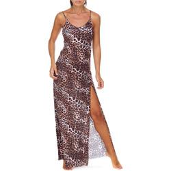 Textil Mulher Vestidos compridos Me Fui M20-0462X1 Castanho