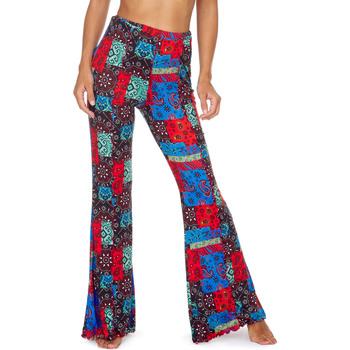 Textil Mulher Calças finas / Sarouels Me Fui M20-0363X1 Vermelho