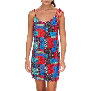 Textil Mulher Vestidos curtos Me Fui M20-0361X1 Vermelho