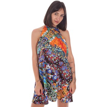 Textil Mulher Pareo Me Fui M20-0379U Azul
