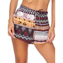 Textil Mulher Shorts / Bermudas Me Fui M20-0054X1 Castanho