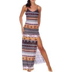 Textil Mulher Vestidos compridos Me Fui M20-0080X1 Castanho