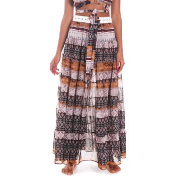Textil Mulher Saias Me Fui M20-0062X1 Castanho