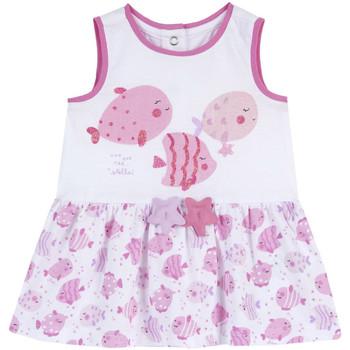 Textil Rapariga Vestidos curtos Chicco 09003813000000 Branco