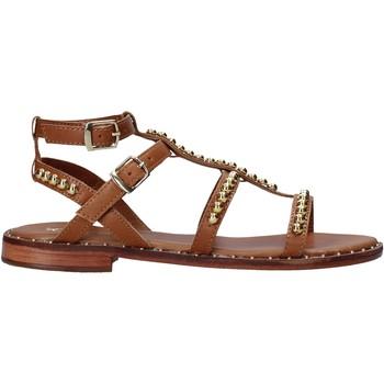 Sapatos Mulher Sandálias Keys K-5060 Castanho