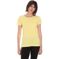Textil Mulher T-Shirt mangas curtas Diadora 102175886 Amarelo