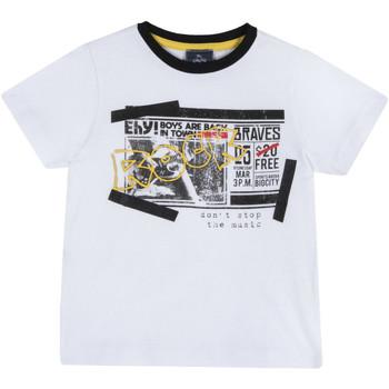 Textil Criança T-Shirt mangas curtas Chicco 09067290000000 Branco