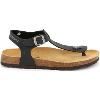 Sapatos Homem Sandálias Grunland SB1573 Preto