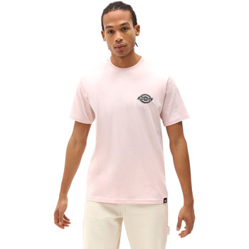 Textil Homem T-Shirt mangas curtas Dickies DK0A4XENLPI1 Rosa