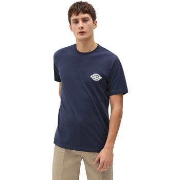 Textil Homem T-Shirt mangas curtas Dickies DK0A4XENNV01 Azul