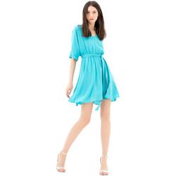 Textil Mulher Vestidos curtos Fracomina FR21SD1024W42801 Azul