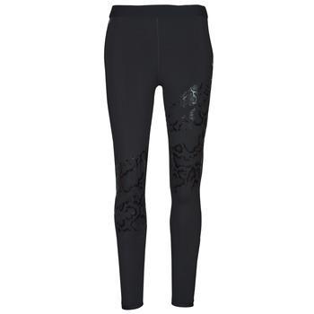 Textil Mulher Collants Puma UNTAMED PRINT TIGHT Preto