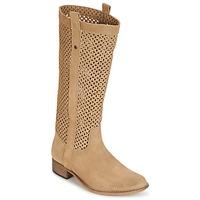 Sapatos Mulher Botas Betty London DIVOUI Camel