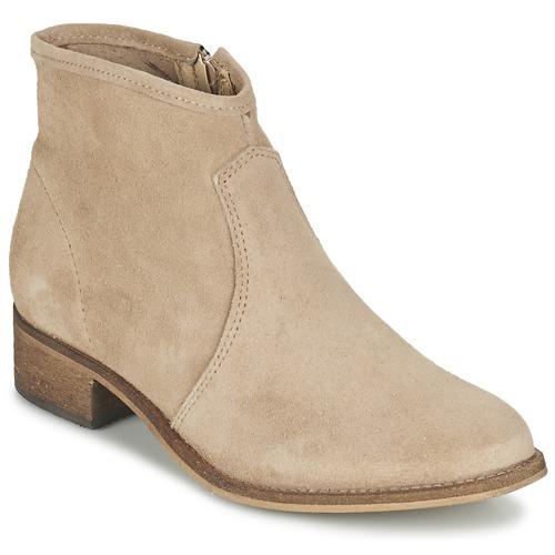 Sapatos Mulher Botas baixas Betty London NIDIA Bege