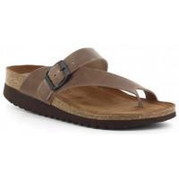 Sapatos Mulher Chinelos Interbios 7119-MM Beige