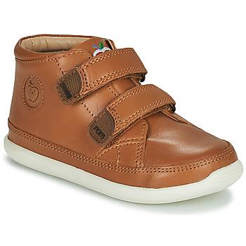 Sapatos Criança Sapatilhas de cano-alto Shoo Pom CUPY SCRATCH Castanho