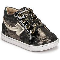 Sapatos Rapariga Sapatilhas de cano-alto Shoo Pom BOUBA ARROW Preto