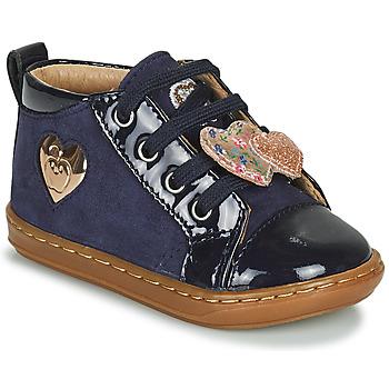 Sapatos Rapariga Sapatilhas de cano-alto Shoo Pom BOUBA HEART Azul