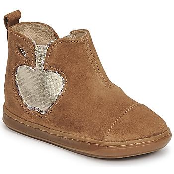 Sapatos Rapariga Botas baixas Shoo Pom BOUBA NEW APPLE Castanho