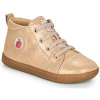 Sapatos Rapariga Sapatilhas de cano-alto Shoo Pom BOUBA ZIP LACE Rosa