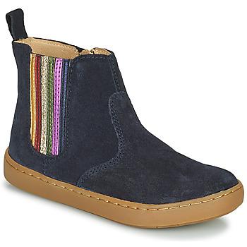 Sapatos Rapariga Botas baixas Shoo Pom PLAY NEW SHINE Azul