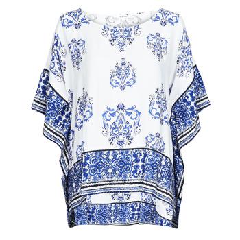 Textil Mulher Tops / Blusas Desigual ANDES Branco / Azul