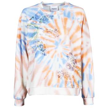 Textil Mulher Sweats Desigual CRUDO Multicolor
