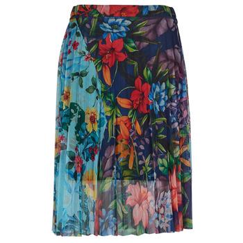 Textil Mulher Saias Desigual BUNY Multicolor
