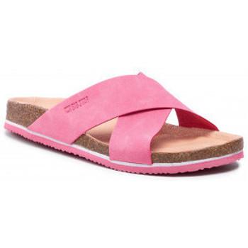 Sapatos Mulher Chinelos Big Star HH274597 Cor-de-rosa