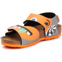 Sapatos Criança Sandálias Birkenstock Palu Kids BS Cor de laranja