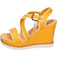 Sapatos Mulher Sandálias Enrico Coveri BH347 Amarelo