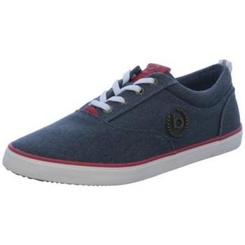 Sapatos Homem Sapatos Bugatti 3215020469504130 Azul marinho