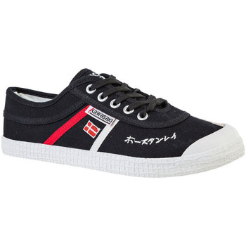 Sapatos Homem Sapatilhas Kawasaki FOOTWEAR - Signature canvas shoe - black Preto