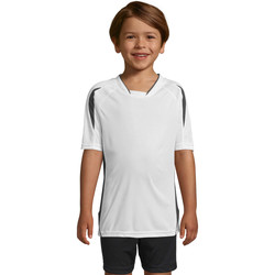 Textil Criança T-Shirt mangas curtas Sols Maracana - CAMISETA NIÑO MANGA CORTA Blanco