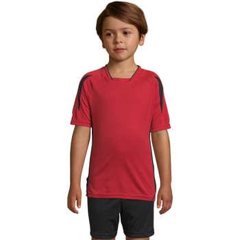 Textil Criança T-Shirt mangas curtas Sols Maracana - CAMISETA NIÑO MANGA CORTA Rojo