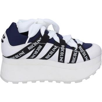 Sapatos Mulher Sapatilhas Rucoline BH374 Azul