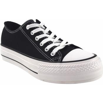 Sapatos Homem Multi-desportos Bienve Lona caballero  2063b negro Preto