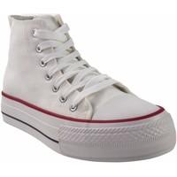 Sapatos Homem Multi-desportos Bienve Lona caballero  2065b blanco Branco