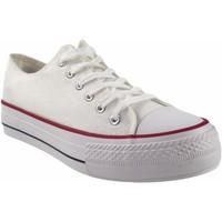 Sapatos Homem Multi-desportos Bienve Lona caballero  2063b blanco Branco