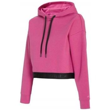 Textil Mulher Sweats 4F BLD011 Cor-de-rosa