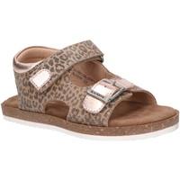Sapatos Rapariga Sandálias Kickers 861001-30 FUNKYO Beige