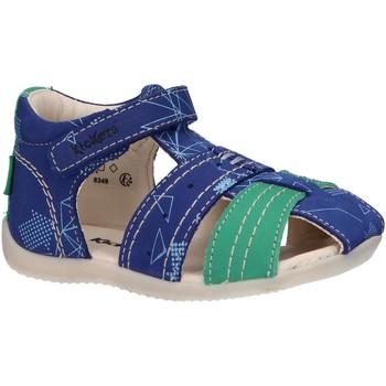 Sapatos Criança Sandálias Kickers 786421-10 BIGBAZAR-2 Azul