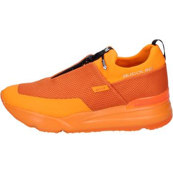 Sapatos Homem Slip on Rucoline BH382 laranja