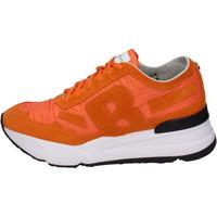 Sapatos Homem Sapatilhas Rucoline BH388 laranja