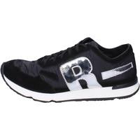 Sapatos Homem Sapatilhas Rucoline BH395 Preto