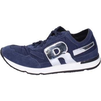 Sapatos Homem Sapatilhas Rucoline BH396 Azul